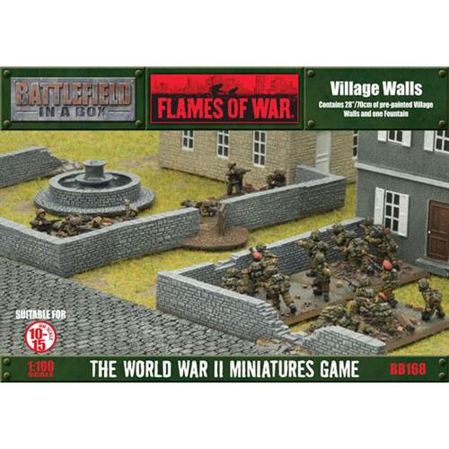 Flames Of War Battlefield In A Box Village Walls