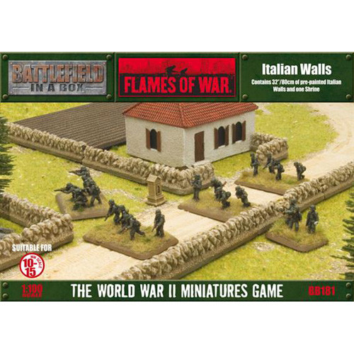 Flames of War: Battlefield in a Box - Italian Walls