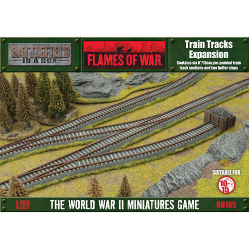 Flames of War: Battlefield in a Box - Train Tracks Expansion