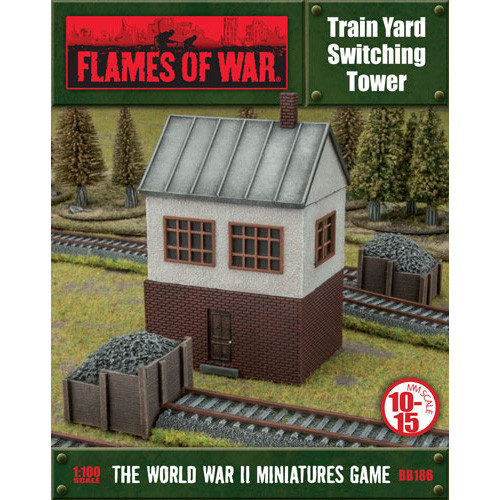 Flames of War: Battlefield in a Box - Train Yard Switching Tower