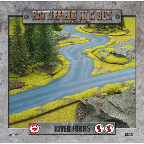 Flames of War: Battlefield in a Box - River Fork