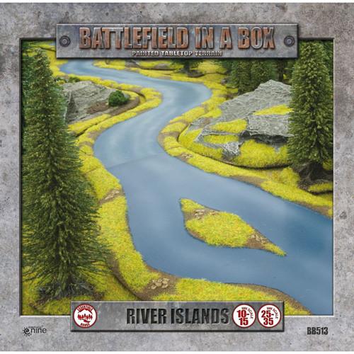 Flames of War: Battlefield in a Box - River Islands