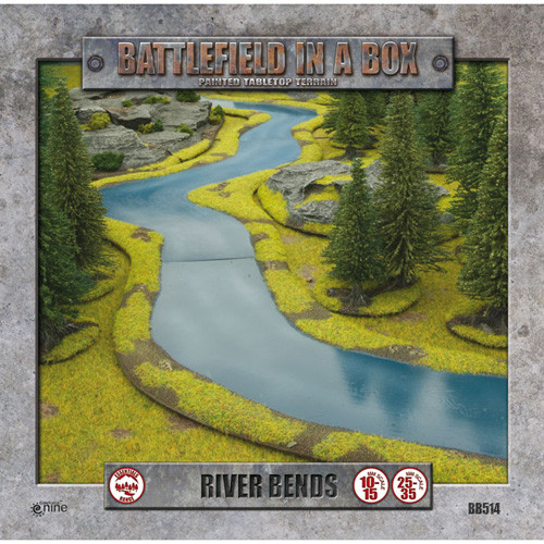 Flames of War: Battlefield in a Box - River Bends
