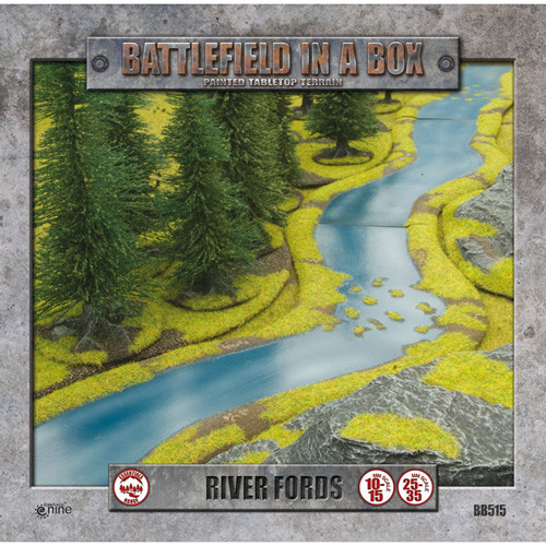 Flames of War: Battlefield in a Box - River Fords