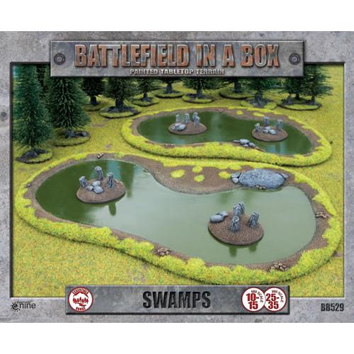 Flames of War: Battlefield in a Box - Swamps