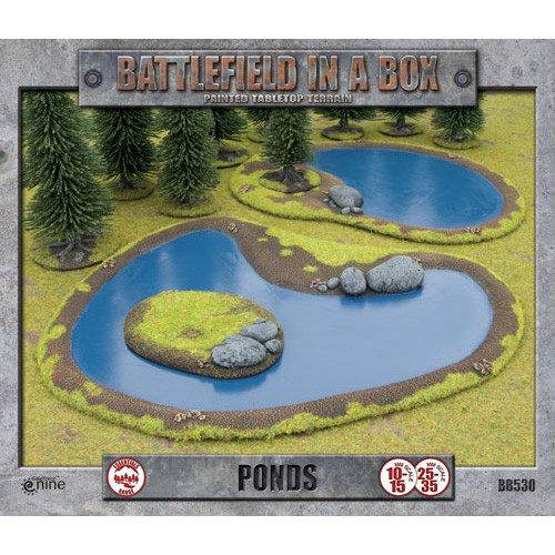 Flames of War: Battlefield in a Box - Ponds