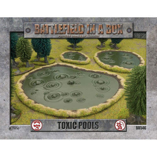 Flames of War: Battlefield in a Box - Toxic Pools