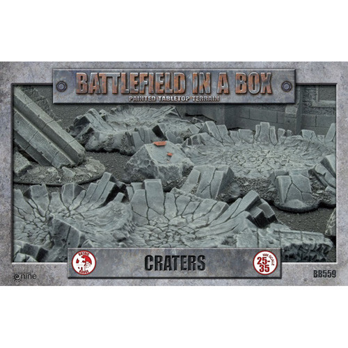 Flames of War: Battlefield in a Box - Craters