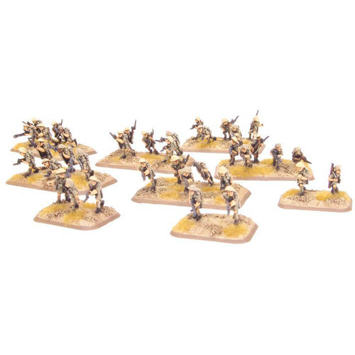Flames of War: WW2 - Rifle Platoon (Britain, 8th Army) (Early, Mid)