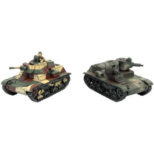 Flames of War: WW2 - 7TP Light Tank