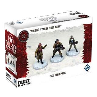 Dust Tactics - SSU Hero Pack (Nikolai/Yakov/Red Yana)
