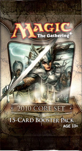 Magic The Gathering 2010 Booster Pack