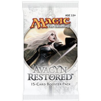 Magic The Gathering - Avacyn Restored Booster Pack