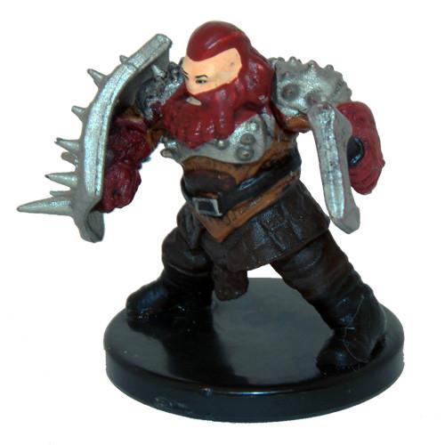 Dungeons Deep #021 Dwarf Barbarian (U)