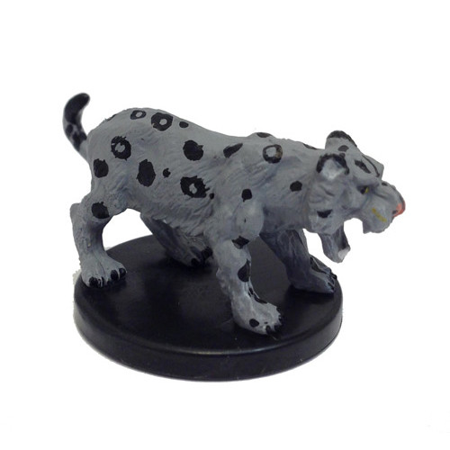 Legends of Golarion #026 Snow Leopard (U) (Minis Sale)