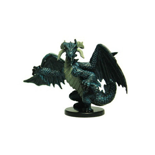 Legends of Golarion #045 Medium Black Dragon (R)