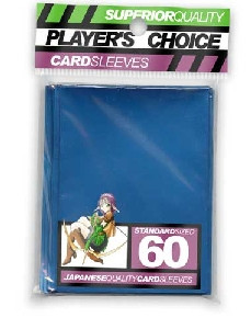 Player's Choice Standard Sleeves: Metallic Blue (60 ct)
