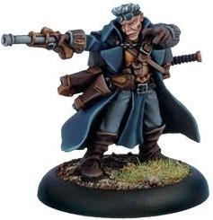 Warmachine: Cygnar - Gun Mage Captain Adept