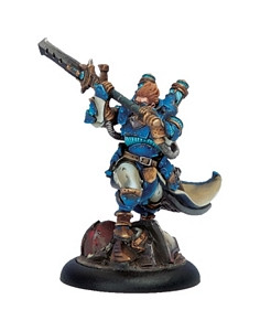 Warmachine: Cygnar - Lord Commander Stryker Warcaster