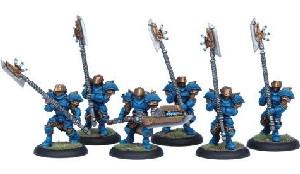 Warmachine: Cygnar - Stormguard Unit Box (6)