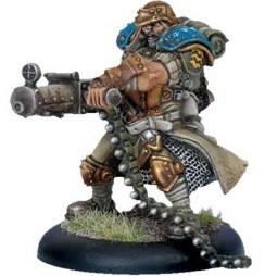 Warmachine: Cygnar - Captain Maxwell Finn
