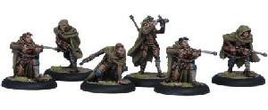 Warmachine: Cygnar - Rangers Unit Box (6)