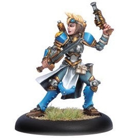 Warmachine: Cygnar - Journeymen Warcaster (Variant)