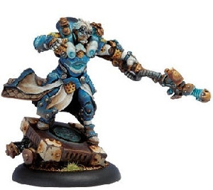Warmachine: Cygnar - General Adept Sebastian Nemo Epic Warcaster