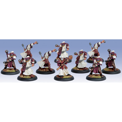 Warmachine: Protectorate - Holy Zealots Unit Box (10)