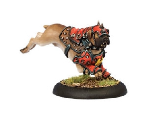 Warmachine: Khador - War Dog Warcaster Attachment