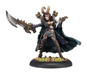 Warmachine: Cryx - Pirate Queen Skarre Warcaster (Variant)