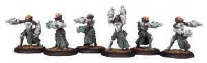Warmachine: Retribution - House Shyeel Battle Mages Unit Box (6)