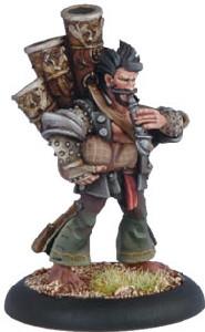 Warmachine: Mercenaries - Rhupert Carvolo Piper of Ord