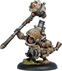 Warmachine: Mercenaries - Warcaster Durgen Madhammer