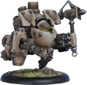 Warmachine: Mercenaries - Wroughthammer Rockram Rhulic Heavy Warjack