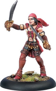 Warmachine: Mercenaries - Privateer First Mate Hawk