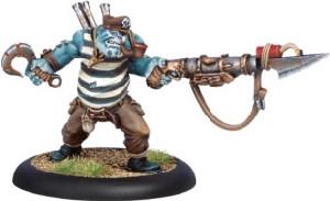 Warmachine: Mercenaries - Privateer Bosun Grogspar