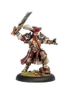 Warmachine: Mercenaries - Warcaster Captain Bartolo Montado
