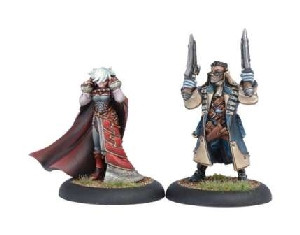 Warmachine: Mercenaries - Lady Aiyana & Master Holt