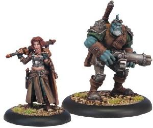 Warmachine: Mercenaries - Dannon Blyth & Bull