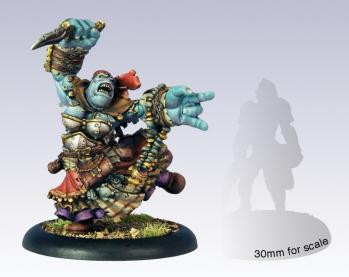 Hordes: Trollbloods - Warlock Calandra Truthsayer