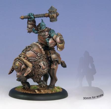 Hordes: Trollbloods - Horthol, Long Rider Champion