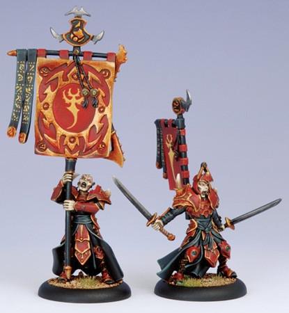 Hordes: Skorne - Praetorian Swordsmen Officer & Sword Bearer