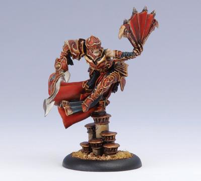 Hordes: Skorne - Epic Warlock Lord Assassin Morghoul