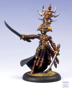 Hordes: Skorne - Epic Warlock Supreme Archdomina Makeda