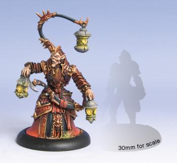 Hordes: Skorne - Warlock Void Seer Mordikaar