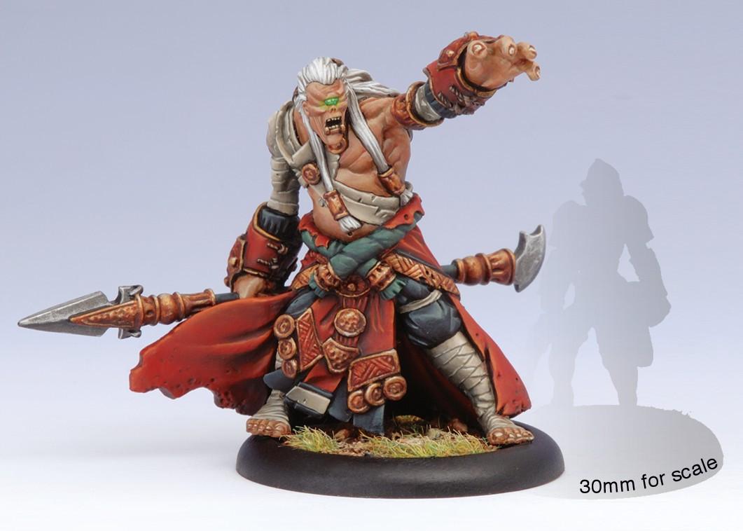 Hordes: Skorne - Cyclops Shaman Light Warbeast