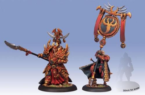 Hordes: Skorne - Tyrant Commander & Standard Bearer