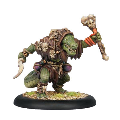 Hordes: Minions - Gatorman Witch Doctor