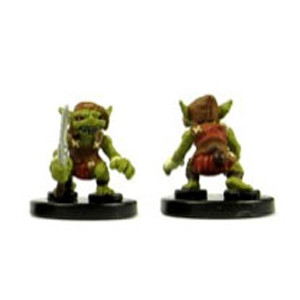 Heroes & Monsters #01 Goblin Warrior (Red) (C)